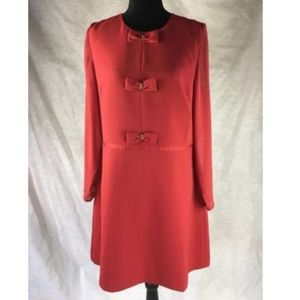 Dresses & Skirts - EARLY 60'S VINTAGE DARLING RED TAILORED DRESS